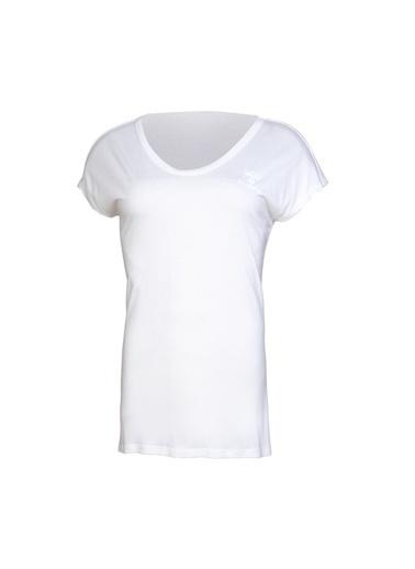 Hummel Kadın Tişört Jeremih 910646-9003 Beyaz